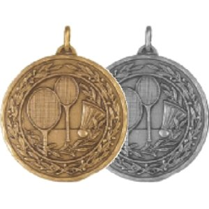 4181 Crystech Badminton Medal