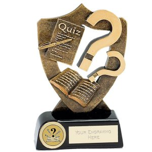 A329 Celebration Shield Quiz Trophy
