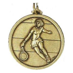 366-56 Cebrian Ladies Tennis Medal